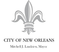 City of New Orlean logowithmayorsname